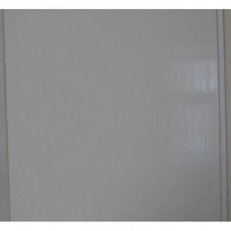 Панель пластиковая бесшовная лакированная 10x250x6000 мм молочно-белая