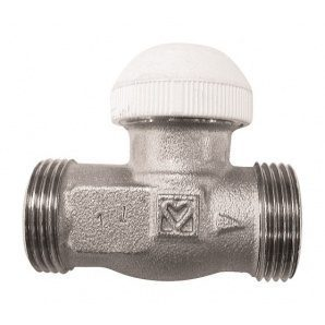 Термостатичний клапан HERZ TS-90 прохідний G 3/4xG 3/4 (1773791)
