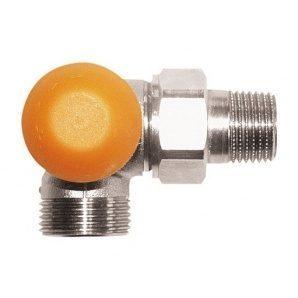 Термостатический клапан HERZ TS-98-V трехосевой угловой AB G 3/4xR 1/2 (1764567)