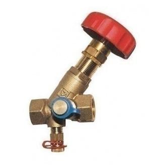 Балансировочный вентиль HERZ STROMAX-М 4117 М 5/4 дюйма DN32 (1411754)