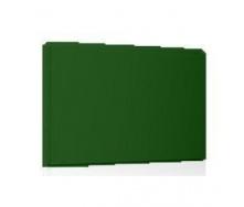 Фасадная кассета Ruukki Liberta original 102Grande 900*1100*2400 мм (RAL6002/зеленый лист)