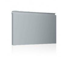 Фасадная кассета Ruukki Liberta elegant 500Grande 851*900*1800 мм (RAL7000/серая белка)