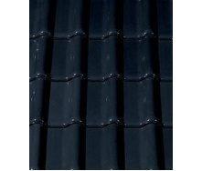 Керамическая черепица CREATON Futura 300х482 мм (black glazed)