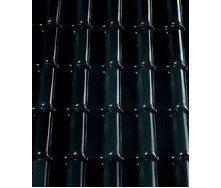 Керамическая черепица CREATON Premion 280х460 мм (black glazed)