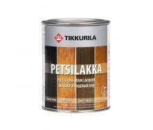 Алкидный лак Tikkurila Petsilakka 0,3 л черный (махагон)