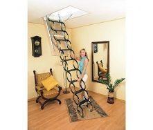 Чердачная лестница Oman Ножничная 70x90 см