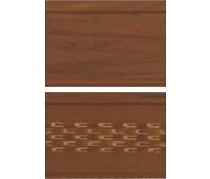 Панель софіт ASKO перфорована 3,5 м темний дуб