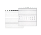Панель софит ASKO перфорированная 3,5 м белая