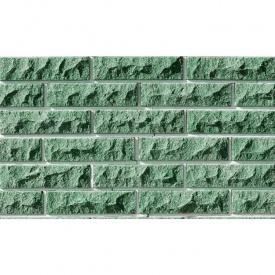 Лицьова цегла Фагот тичкова 78 230х78х65 мм (зелений)