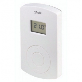 Кімнатний терморегулятор з цифровим дисплеєм Danfoss СF-RD (088U0214)