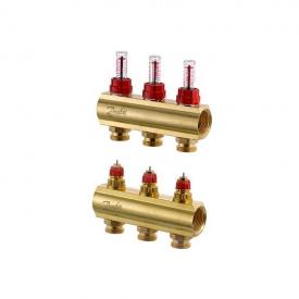 Распределительный коллектор Danfoss FHF-3F c ротаметрами (088U0523)