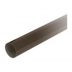 Труба водостічна з муфтою Nicoll 33 100 мм коричневый