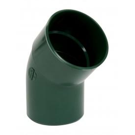 Відвід одномуфтовий Nicoll 45° зелений