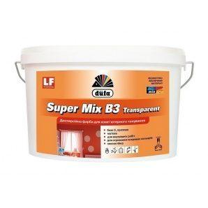 Краска Dufa Super Mix В3 Transparent 2,5 л прозрачный