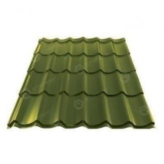 Металлочерепица Сталекс GRAND 0,45 мм PE Китай (Sutor Steel) (RAL6020/хромово-зеленый)