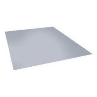 Сэндвич-панель Ruukki SP2D PU плоский профиль 60 мм (RAL9006/белый алюминий)