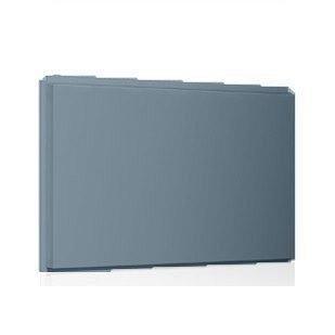 Фасадная кассета Ruukki Liberta original 102Grande 900*1100*2400 мм (RAL7000/серая белка)