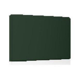 Фасадная кассета Ruukki Liberta original 102Grande 900*1100*2400 мм (RAL6020/хромово-зеленый)
