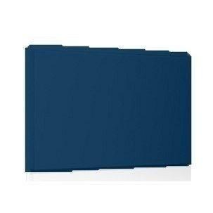 Фасадная кассета Ruukki Liberta original 102Grande 900*1100*2400 мм (RAL5001/зелено-синий)