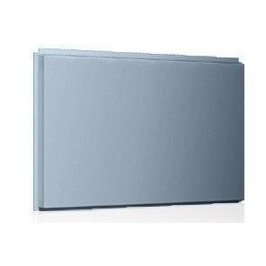 Фасадная кассета Ruukki Liberta original 102Grande 900*1100*2400 мм (RAL7031/сине-серый)