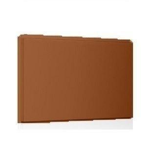 Фасадная кассета Ruukki Liberta original 102Grande 900*1100*2400 мм (RAL8001/охра коричневая)