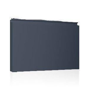 Фасадная кассета Ruukki Liberta elegant 500Grande 851*900*1800 мм (RAL7024/серый графит)
