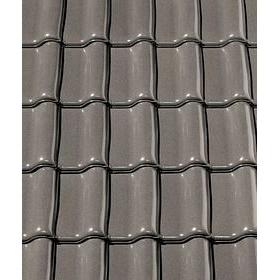 Керамическая черепица CREATON Premion 280х460 мм (crystal grey glazed)