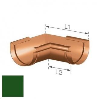 Внутрішній кут Gamrat 125 мм зелений