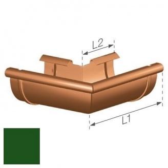Зовнішній кут Gamrat 125 мм зелений