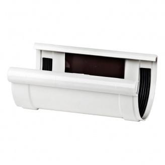 З'єднувач ринви Profil 90 мм білий