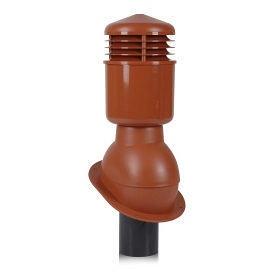 Вентиляционный выход Wirplast Normal К24-4 110*495 мм красный
