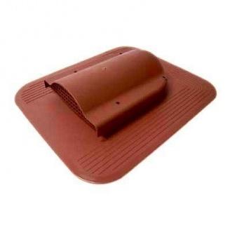 Вентилятор подкровельного пространства Wirplast Simple К17-4 468*390 мм красный