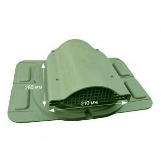 Вентилятор подкровельного пространства Wirplast Optimum К20-5 285*210 мм зеленый