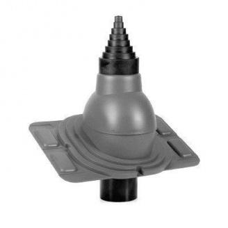 Антенный выход Wirplast Universal РА25-1 90 мм серый