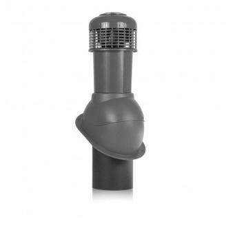 Вентиляционный выход Wirplast Normal К66-3 150*550 мм графит