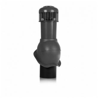 Вентиляционный выход Wirplast Perfekta К65-6 150*550 мм черный
