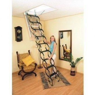Горищні сходи Oman Ножичні 70x100 см
