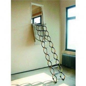 Горищні сходи Oman Ножичні Verticale 70x120 см