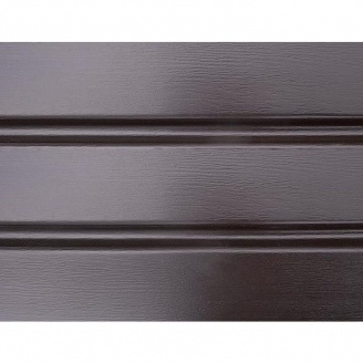 Панель софіт ASKO без перфорації 3,5 м коричнева