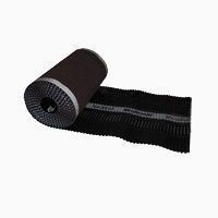 Коньковая вентиляционная лента Terran Mediroll Eco 280х5000 мм черная