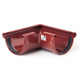 Угол наружный Profil Z 90° 130 мм красный
