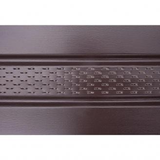 Панель софит ASKO перфорированная 3,5 м коричневая