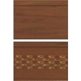 Панель софит ASKO перфорированная 3,5 м темный дуб