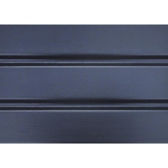 Панель софит ASKO без перфорации 3,5 м графит