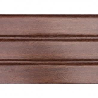 Панель софит ASKO без перфорации 3,5 м орех
