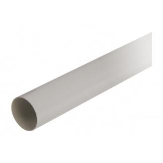 Труба водостічна з муфтою Nicoll 33 100 мм сірий