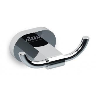 Двойной крючок RAVAK Chrome 90 мм