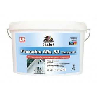Краска Dufa Fassaden Mix B3 Transparent 2,5 л прозрачный
