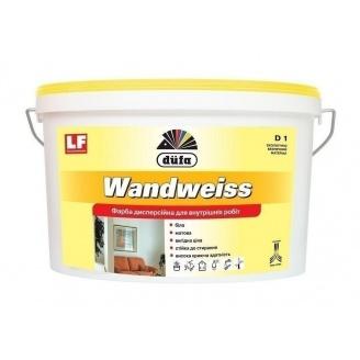 Краска Dufa Wandweiss D1 10 л белый