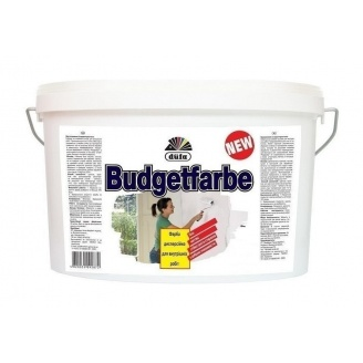 Краска Dufa Budgetfarbe 1 л белый